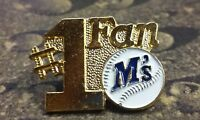 Seattle Mariners #1 Fan pin badge MLB collector