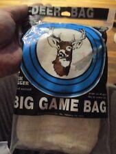 """Big Game Bag """"Buck Bagger"""" Deer Elk Mesh Bag Covers 2700 Sq. In. Usa"""