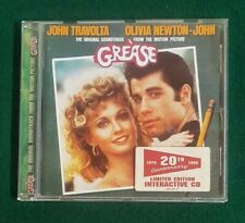 SOUNDTRACK- CD - Grease - 20th aniversary Limited Edition Interactive cd