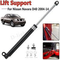 Rear Tailgate Slow Down Shock Strut Damper Kit For Nissan Navara D40 2005-2015