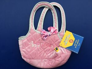Build a Bear Mini Pink Stars & Hearts Carrier Teddy Accessories  NEW