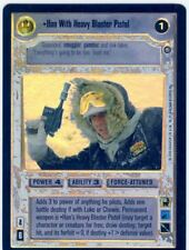 Star Wars CCG Reflections II Boxtopper Foil Han With Heavy Blaster Rifle