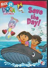 Nick Jr's: Dora the Explorer - Save the Day! (DVD) VGCo. - FREE S/H