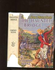 Nancy Drew: The Haunted Bridge (1938B-3) HB/DJ 1st/3rd