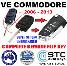 HOLDEN VE COMMODORE HSV STATESMAN  SV6 COMPLETE REMOTE CHIP  FLIP CAR KEY FOB