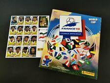 Panini Wm France 98 Komplett + Iran Album Rarität Sammelalbum Frankreich 1998