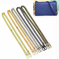 Metal Replacement Purse Chain Strap Handle Shoulder Crossbody Handbag Bag 120CM