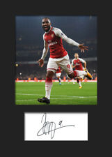 Alexandre Lacazette #1 - Arsenal Signed Photo A5 Mounted Print - FREE DELIVERY