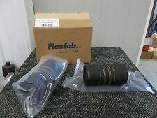 "2 FLEXFAB AIRCRAFT SURPLUS MILITARY FLEXIBLE AIR DUCT HOSE 6"" LONG 3"" ACROSS NEW"