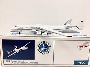"Herpa Wings Antonov AN-225 ""Aviasvit XXI 2008"" 1:500 UR-82060 518710"