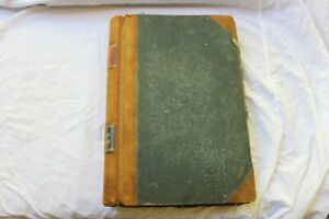 OLD STOCK LEGER BOOK  USED AS STAMP ALBUM