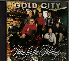 """GOLD CITY......""""HOME FOR THE HOLIDAYS""""........RARE HTF OOP CHRISTMAS/ HOLIDAY CD"""