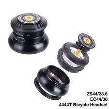 "Bike Bicycle CNC Bearing Headset For MTB Tapered Tube Fork 1-1/8"" 1-1/2"" Adapter"