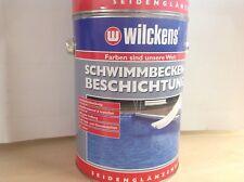 2,5 Liter Wilckens Schwimmbeckenfarbe Beschichtung Blau Poolfarbe