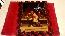 PETE ROSE Signed Reds Baseball Clock -Guaranteed Authentic