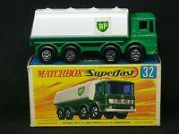 Matchbox Superfast Transitional MB32-A2: Leyland Petrol Tanker, MINT G Box+Car