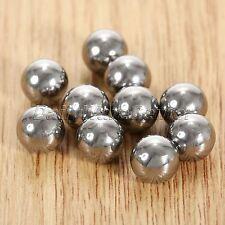 100pcs Outdoor Replacement Carbon Steel Balls Pocket Slingshot Ball Bearings 8mm