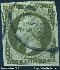 FRANCE EMPIRE N° 11 OBLITERATION CACHET A DATE COTE 100€ A VOIR