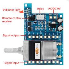 AC/DC 9V Infrared Pre AMP Audio Motor Amplifier Volume Remote Control Board Stri