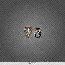 07055 Cinelli Bicicletta Head Badge Adesivi-Decalcomanie-Transfers