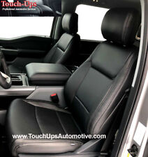 2021 22 Ford F 150 Xlt Supercrew Supercab Leather Seat Covers Black Gray Perf
