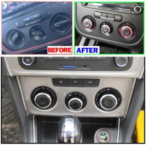 HOT Heater Knobs Buttons Switch For VW Jetta MK5 Golf 5 Tiguan Touran  mhjj