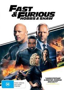 Fast & Furious: Hobbs & Shaw (DVD, 2019)