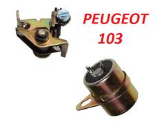 PEUGEOT 103 104 Condensatore Condensatore + RUTTORE ACCENSIONE PUNTI eseguire MOTORINO