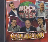 Mock The Week Too Hot For TV CD Audio Comedy NEW Dara O'Briain Frankie Boyle