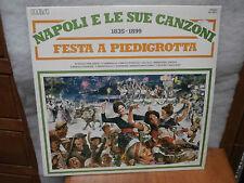Napoli e le sue Canzoni - Festa a Piedigrotta  1835-1899  lp NAPLES SONGS SONG