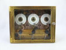 Antique Diebold Safe & Lock Company Three Movement Timer Bank Vault Mechanism