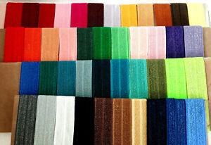1m Falzgummi Rollierband Einfassband elastisch Satinglanz uni Farben 15mm