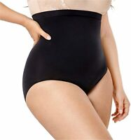 DELIMIRA Women High Waist Tummy Control Panties Body Shaper, Black, Size Large d