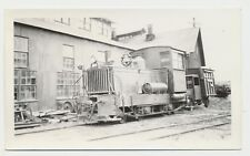 1940 Real Photo Pacific Coast Railway 2-4-2 Train Ford Truck San Luis Obispo CA