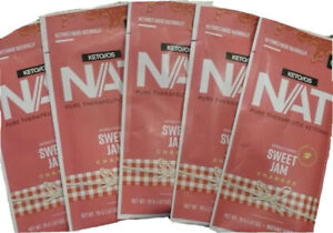 KETO OS NAT - 5 Packets New Sweet Jam Flavor Charged - FREE SHIPPING!!