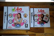 Jeu Léa PASSION Bébés Complet (boite + notice) pour Nintendo DS