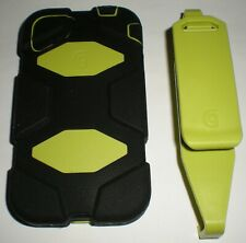 Griffin Survivor Military Rugged Case iPhone 4/4s, with clip, Lime Green & Black
