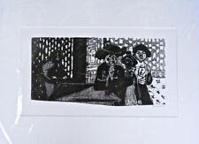 Künstlerische Grafiken & Drucke aus Deutschland mit Holzschnitt-Technik