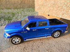 1:24 JADA TOYS *BLUE* 2014 Dodge RAM Crew Cab Pickup Truck DIECAST *NEW*