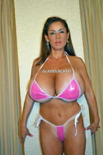 MINKA  8X12 original PHOTO 221  BUSTY BIKINI  LEGEND