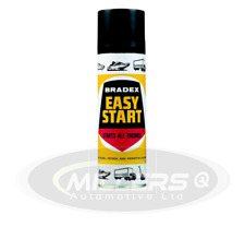 Holts Bradex Easy Start For Petrol & Diesel Engines Cold Starting Spray 300ML