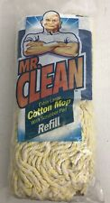 Mr Clean Extra Large Cotton Mop With Scrubber Pad Refill #4243 Brand New