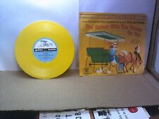 Old 78 RPM Children's Record - Golden R 244 - The Surrey With The Fringe On Top