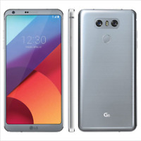 """5.7"""" LG G6 H871 (AT&T + Unlocked) 32GB 4GB RAM 13MP Android 4G Téléphone - Gris"""