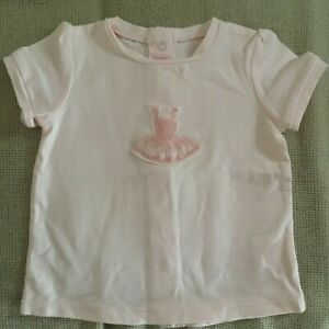 Repetto girl's top t-shirt - Size 6 months -  Pink - As New condition