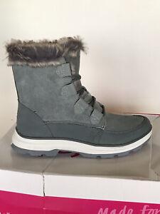 Ryka Briella Winter Snow Boots (SIZE 8.5) Gray