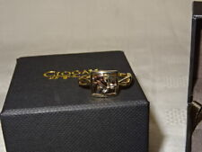 NEW Welsh Clogau 9ct Yellow & Rose Gold St Davids Daffodil Ring Size O RRP £209