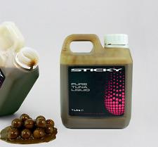 Sticky Baits Pure Liquid Tuna Liquid Attractant 1ltr Bottle