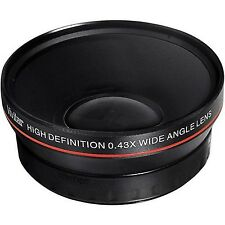 Wide Angle/Macro Conversion Lens for Canon EOS 1D 5D 6D 7D 10D 20D 30D 40D 50...