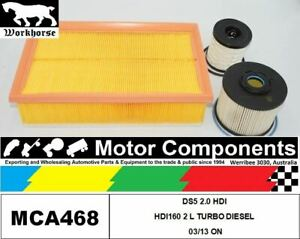 FILTER KIT for CITROEN DS5 2.0 HDI HDI160 2 L TURBO DIESEL 03/13 ON
